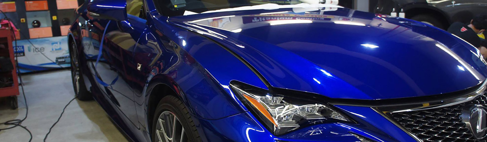 CS-II Paint Protection Blue Lexus Glossy