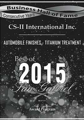 CS II Awards San Gabriel 2015