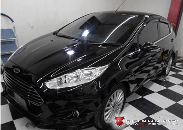 CS-II Paint Protection Indonesia Black Ford Fiesta Glossy
