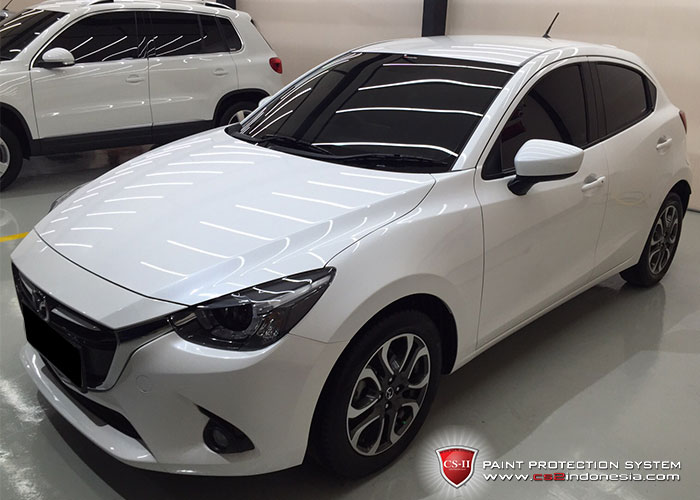 CS-II Paint Protection Indonesia White MazdaGlossy