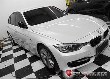 CS-II Paint Protection Indonesia White BMW Glossy