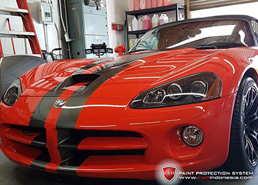 CS-II Paint Protection Indonesia Dodge Viper Glossy