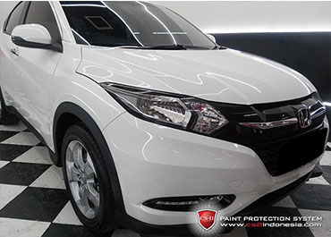 CS-II Paint Protection Indonesia White Jonda HRV Glossy