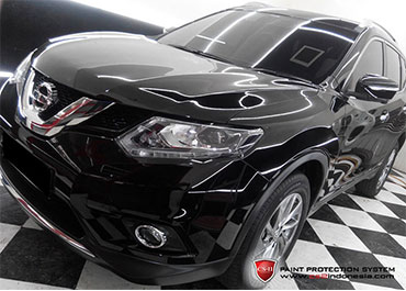 CS-II Paint Protection Indonesia Black Nissan X-Trail 2016 Glossy