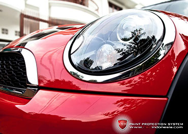 CS-II Paint Protection Indonesia Red Mini Glossy