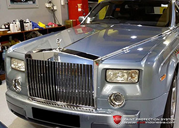 CS-II Paint Protection Indonesia Roll Royce Glossy