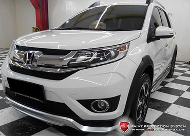 CS-II Paint Protection Indonesia White Honda Glossy
